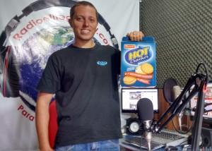 Ouvinte Bernado Ganhador do Kit Hot Cracker Parati