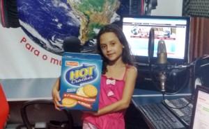 Ouvinte Ester Ganhadora do Kit Hot Cracker Parati